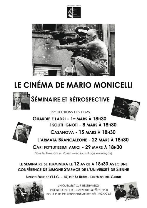 Affiche MONICELLI 2011